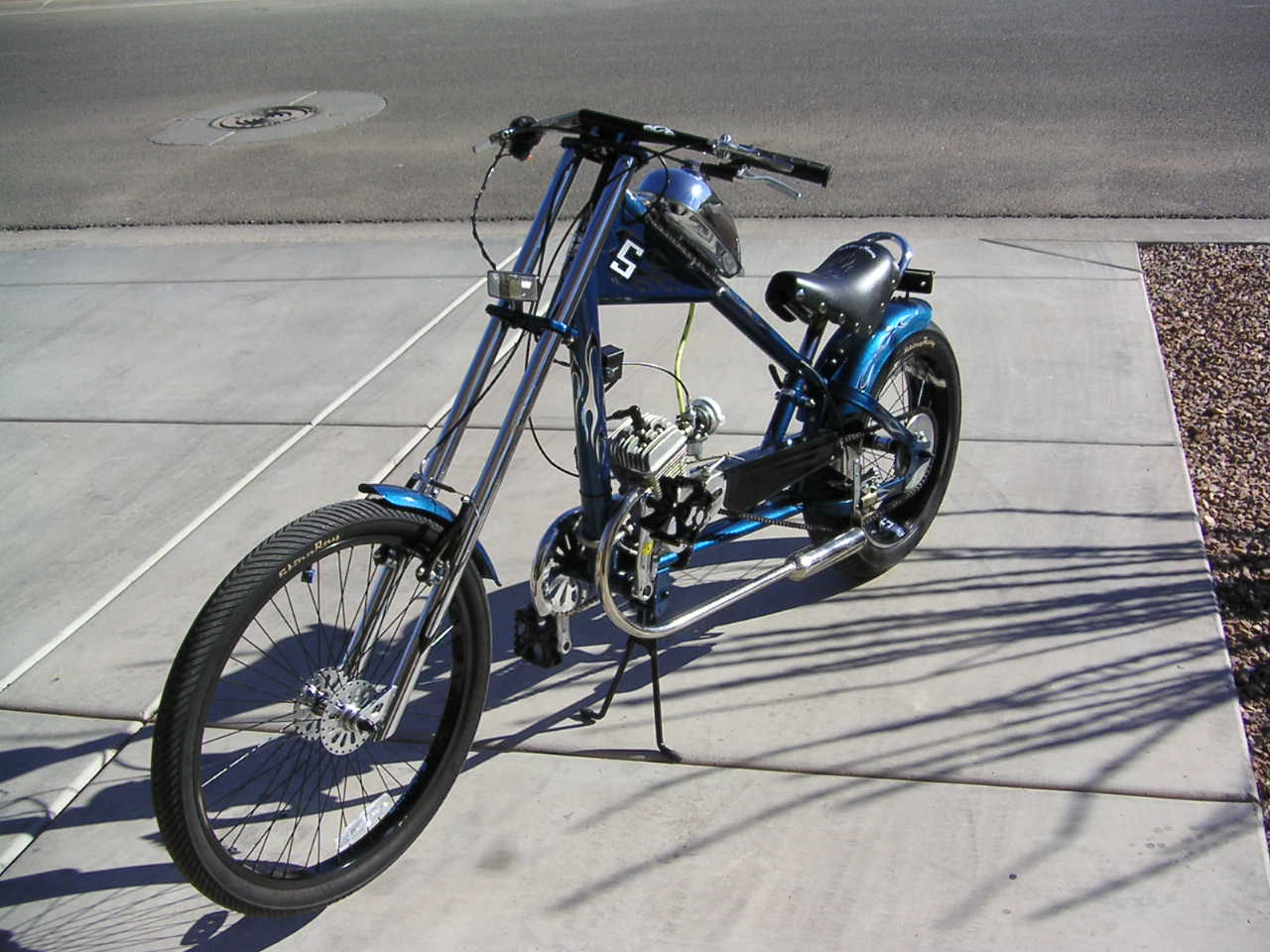 Pictures of Motorized Bicycles | Bicycle Motor Kits | Gas ...